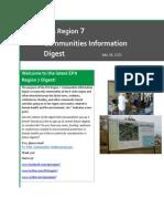 EPA Region 7 Communities Information Digest - July 24, 2015