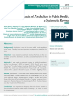 Impacts of Alcoholism in Public Health, a Systematic Review