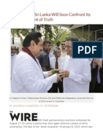 Democracy in Sri Lanka Will Soon Confront Its Second Moment of Truth
