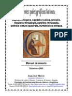Manual Paleografía