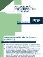 Organizações Nacionais e Internacionais de Turismo