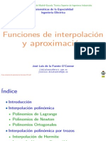 Clase Interpolacion Aproximacion Funciones 2014