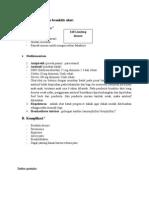 Penatalaksanaan & Komplikasi Bronkitis Akut