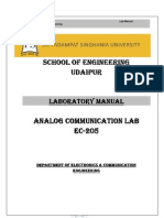 Communication systems  lab manual