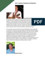 Biografía de Cantantes Hondureños