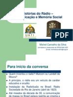 Histórias Do Rádio_Comunicação e Memória Social