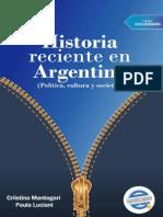 Historia Reciente en Argentina