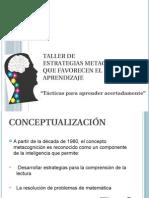 Estrategias Metacognitivas - Presentación 1