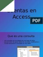 Cuentas en Access