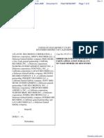 Atlantic Recording Corporation et al v. Does 1-14 - Document No. 4