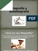 Biografía y Autobiografía 3° Básico