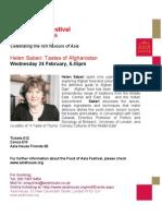 Helen Saberi Flyer