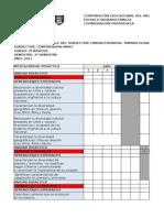 Carta Gantt Segundo Semestre COMPRENSIÓN 4 Basico 2011