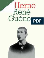 Cahier de l'Herne N°49 Guénon
