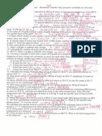 Thermochemistry Problems Worksheet One Semester