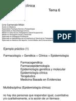 Epidemiología Clínica LCM 6