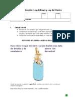 Guía Ley de Los Gases