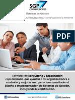 Brochure SGP Consultores