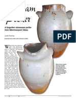 William Pecker Stoneware - New England Antiques Journal August 2015