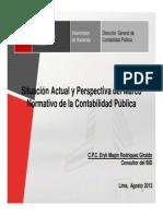 Marco Normativo de La Contabilidad Publica - Eryk Rodriguez