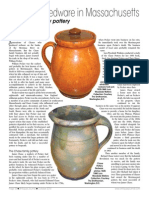 Chase Family Pottery - New England Antiques Journal October 2014
