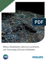 Mitos y Realidades de La Iluminación Vial LED 3 Junio 2014 BAJA Versión Final