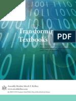 Transforming Textbooks