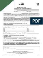 Rental Application (DC)