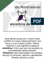 Formando Ministradores