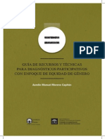 Guía de Recusos y Técnicas Para Diagnóstico Participativos Con Enfoque de Equidad de Género