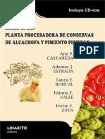 Diseño de Planta de Conserva de Alcachofa y Pimiento Piquillo