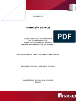Informe 2, Formacion de Sales
