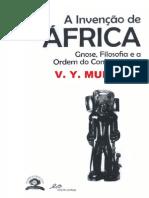 MUDIMBE, V.Y. a Invenção de África