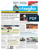Edición Impresa El Siglo 28-07-2015