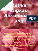 Ketika Engkau Bersembahyang Emha Ainun Najib