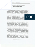 CASTORIADIS, C., La Crisis Actual Del Proceso Identificatorio