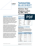 Stainless Steel 904L Alloy