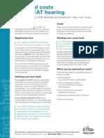 Fees Costs Vcat Hearing Factsheet2014