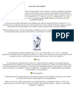 I - Conceito de Paidéia