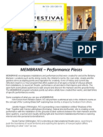 membrane performance pieces at bellamy - press release