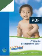 33741178 Programa Desnutricion Cero