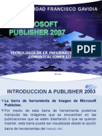 Introduccion a Publisher