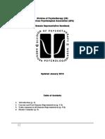 Domain Representative Handbook