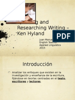 Teaching & Researching Writing - Ken Hyland