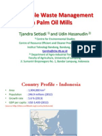 Sustainable Management in Oil Palm Waste