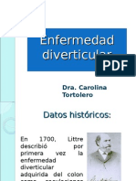20110629 Enfermedad Diverticular Carolina Tortolero