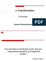 Lean Transformation a Journey