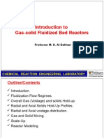 8.5 - Introduction to Gas-solid Fluidized Bed Reactors