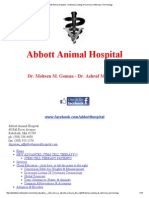 Abbott Animal Hospital - Dictionary Listing of Common Veterinary Terminology