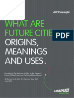 What Are Future Cities, Origins, Meanings and Uses.